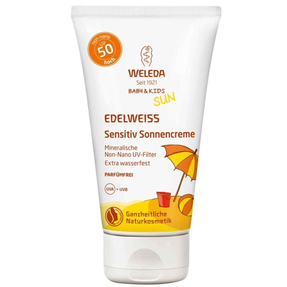WELEDA Edelweiss Sensitiv So.Cr.LSF 50 Baby & Kids